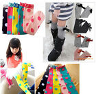 New Kids Toddlers Girls Soft Knee High School Socks 2-8Y Tights Leggings Bow