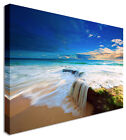 Large SeaScape Of Paradise Canvas Wall Art Prints Pictures