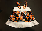NCAA Tennessee Volunteers Baby Infant Toddler Dress YOU PICK SIZE