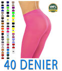 "NEW MISSI TIGHTS 40 DENIER THICK OPAQUE 36"" 38"" 40"" 42"" WOMENS SEXY FANCY DRESS"