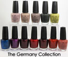 OPI Nail Polish/Lacquer/Varnish Germany Hottest Collection 2012 -15ml Bottle