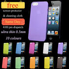 New Ultra Thin 0.3mm Hard Case Cover Skin For iPhone 5 5G 5S