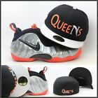 """New Era Queens Custom Fitted Hat For Air Foamposite Crimson Nas """"N"""" Life Is Good"""