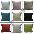 "Plain Chenille Cushion Covers - 18"" x 18"""