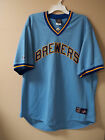 """Milwaukee Brewers 80s """"Cooperstown"""" Throwback Road Jersey by Majestic on Ebay"""