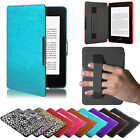Leather Smart Case Cover for New Amazon Kindle Paperwhite 5 with Sleep Wake