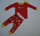 BABY GAP BOYS LONG SLEEVE RED PAJAMA'S Size 6-12 mos NWT