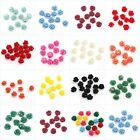 Wholesale Nice Color Coral Rose Flower Shape Loose Chram Spacer Beads10/12/15mm