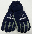 NFL Dallas Cowboys Grossman Cap Men's Winter Ski Glove w/ Rubber Gripper Palm on eBay