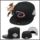 New Era Arizona Diamondbacks Fitted Hat 2001 World Series Side Patch MLB 59fifty on Ebay