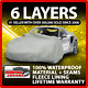 Toyota RAV4 6 Layer Car Cover Fitted In Out door Water Proof Rain Snow Sun Dust