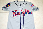 ROY HOBBS #9 NEW YORK KNIGHTS THE NATURAL MOVIE JERSEY GREY- ANY SIZE
