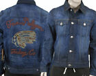 True Religion JIMMY 1971 Western Jacket embroidered Indian hideout  M24T73V40
