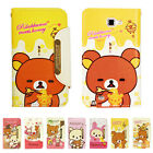 Rilakkuma Diary Case for Galaxy Note2 - Wallet with Jelly Cover / Card Storage