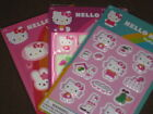 Hello Kitty Stickers   Party Favor Gifts Stocking   3 types  to pick from