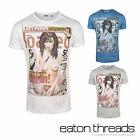 NEW Mens Loaded T-Shirt Top Branded Fashion Printed Crew Size Sizes S M L XL XXL