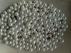 100 - 5000 White Faux Round Pearl Beads In 4 6 8 12 10 12 14mm  Jewellery Making