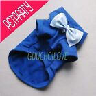 Comfy Dog Clothes For Dog Shirt Dog Polo Dog Pollover Bow Gift Free Shipping