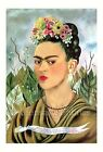 Frida Kahlo Portrait 7x10 Quilt Block FrEE ShiPPinG WoRld WiDE (7F)
