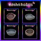 REPTILE WATER DISHES & FOOD BOWLS for geckos, spiders, snakes, lizards