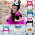 New Design, Cute Kids/Baby/Girl/Boy Owl Hat Knitted Beanie wooly Winter Hats Cap