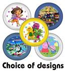 ★ Personalised ★ TOTS TV  ★  WALL CLOCK  ★  Choice of design