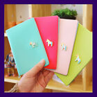 Faux Leather Protect Skimming Passport Holder Case Cover - Pony