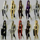 Synthetic Heat Resistant 60 in. Long Straight 150cm Cosplay Wigs Free Shipping