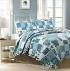 Calypso Real Patchwork 100%Cotton Quilt Set, Bedspread, Coverlet image