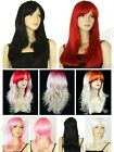 6 Color Hair 18/20/24in. Long 45/50/60cm Long Straight Cosplay Wig Free Shipping