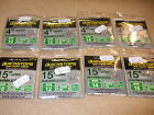 """KORUM BARBLESS QUICKSTOPS ON HAIR RIGS TO NYLON  4"""" OR15"""" X2 PACKS,"""
