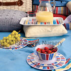 4PK MARINA MELAMINE TABLEWARE - Everyday, Picnic, Camping, Party, BBQ, Nautical