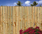 """Bamboo Fence-1"""" Dia-8 Ft Sections Commercial Grade- Choice of 3 Colors-4 Heights"""