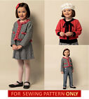 SEWING PATTERN! MAKE CHILD~GIRL JACKET~CARDIGAN~SKIRT~PANTS! SIZE 2~5 OR 6~8!