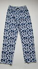 M & S TATTY TEDDY PYJAMA BOTTOMS BLUE PRINT bnwot
