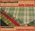 "PVC Vinyl Tablecloth Oilcloth - Easy Wipe Clean 140cm/55"" Wide - Free P&P 162-A"