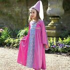 GIRLS FANCY RENAISSANCE PRINCESS  COSTUME AGES 3-5 YEARS / AGE 6-8 YEARS