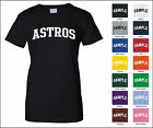Astros College Letter Woman's T-shirt