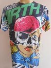 Minute Mirth Pinky Brain Woman Tattoo Men T shirt M L