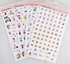 Pink Bean Deco Sticker Sheet (Your Choice of Design)~KAWAII!!