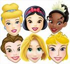 Disney Princesses Variety Six (6) Pack Fun Disney CARD Party Face Masks