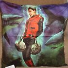"Captain Scarlet ,3 Designs 24""x24"" cushion cover Faux Suede Official Merchandise"