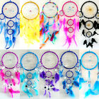 BEADED HAND MADE DREAMCATCHER / WINDOW DECOR / CHILDREN BEDROOM DECORATION