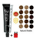 Keune Tinta Hair Color Dye - Natural Shades Permanent - 60 ml Tube + FREE GIFT