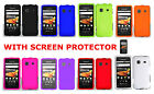Screen Protector+Any 1 Solid Hard Case For SAMSUNG GALAXY PREVAIL SPH-M820 Phone