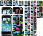 Any Designed Skin Cover Hard Case For  HTC EVO 3D/ EVO V/SHOOTER  Phone