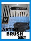 MIXED PAINT BRUSH PAINTBRUSHES WAR GAMES MODELS ART CRAFTS OILS ACRYLIC WATER