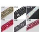 1 METRE SEQUIN TRIM RIBBON CRAFT DRESSMAKING  COSTUME SEWING  *6 COLOURS*  15mm