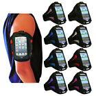 8 COLOUR SPORT TRAVELING GYM ARMBAND STRAP COVER FOR HTC WINDOW 8S SMART PHONE