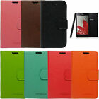 SIRIUS Leather Diary Wallet Cover Case For LG Optimus G E971 E973 LS970 sprint